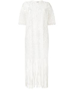 Roseanna | Lace Fringe Trim Dress 36