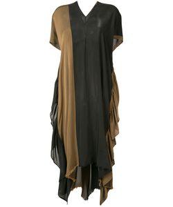 Uma Wang | Bi-Colour Kaftan Dress