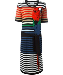 Sonia Rykiel | Parrot Intarsia Striped Dress
