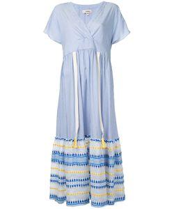 Lemlem   Striped V-Neck Midi Dress