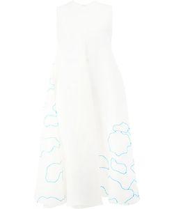 Maison Rabih Kayrouz | Embroidered Clouds Dress