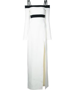 David Koma | Side Slit Off-Shoulders Dress
