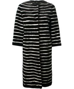Liska | Striped Coat Large