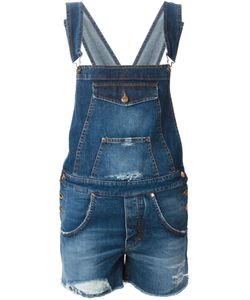 +People | Denim Short Dungaree