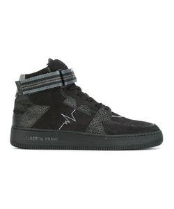 Alberto Premi   Panelled Hi-Top Sneakers 44