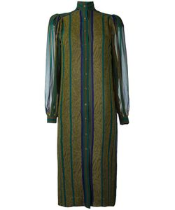 Jean Louis Scherrer Vintage | Striped Shirt Dress