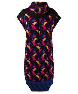 Gig | Geometric Knit Dress G Viscose