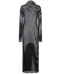 Robert Wun | Rip Knit Dress 12 Polyester/Spandex/Elastane
