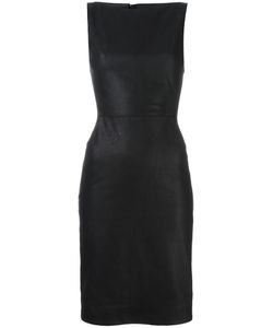 Gareth Pugh   Leather Fitted Dress