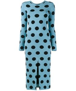 Natasha Zinko | Knitted Polka Dot Dress Large