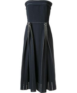 Dion Lee   Pleated Perforated Dress 12