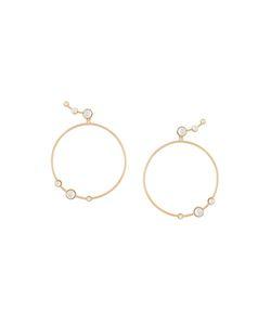 Eshvi | Pearl Hoop Earrings