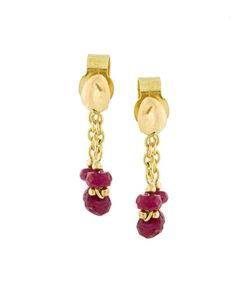 Natasha Collis | Ruby Loop Earrings