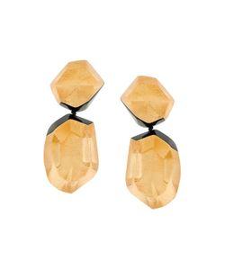 Monies | Double Stone Earrings