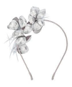 Gigi Burris Millinery | Applique Headband Medium Cotton/