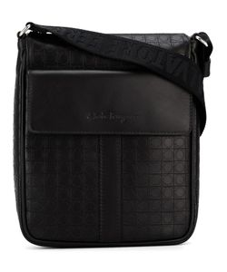 Salvatore Ferragamo | Embossed Gancio Shoulder Bag