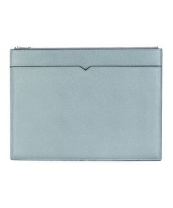 Valextra | Multi Pocket Clutch Calf Leather