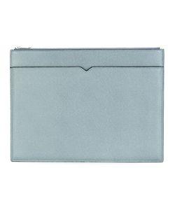 Valextra | Multi Pocket Clutch Calf Leather