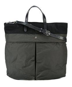Mismo | Helmet Shoulder Bag Adult Unisex Leather/Nylon