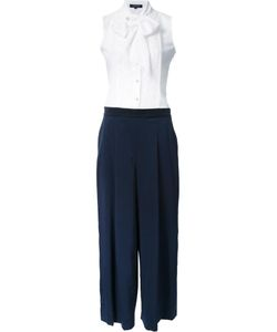 Loveless | Tie Detailing Buttoned Jumpsuit 36 Polyester