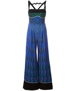 Mary Katrantzou | Snuffbox Print Moss Jumpsuit 8