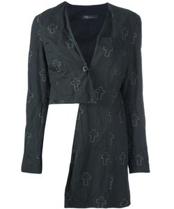 Area Di Barbara Bologna | Cross Print Jacket
