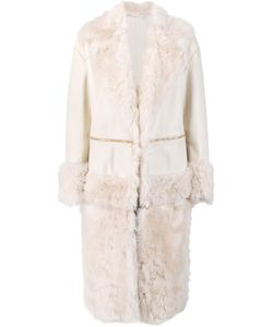 Prabal Gurung | Fur Panel Coat