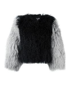 Charlotte Simone | Classic Fuzz Jacket S/M Lamb Fur/Silk/Cotton