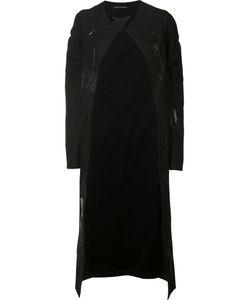 Yohji Yamamoto | Peaked Lapel Mid Coat