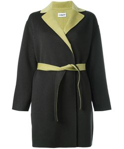 Cacharel | Double Face Belted Coat 40 Cashmere/Wool
