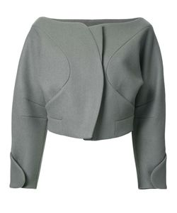 Taro Horiuchi | Structured Cropped Jacket 1 Wool