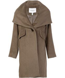Derek Lam 10 Crosby   Hooded Shawl Collar Coat 6