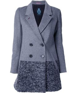 Guild Prime | Double-Breasted Mid Coat 36 Lambs Wool