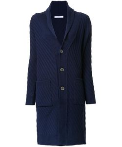 Julien David | Ribbed Cardi-Coat Large