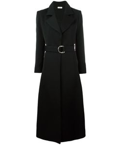 Veronique Leroy | Belted Coat 38 Cotton/Virgin Wool