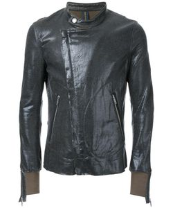 Mihara Yasuhiro | Miharayasuhiro Coated Zipped Jersey Jacket 44 Cotton