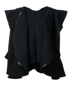 Robert Wun | Structured Wide Ruffle Jacket