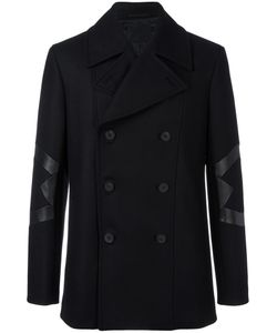 Les Hommes | Panelled Double Breasted Coat 48