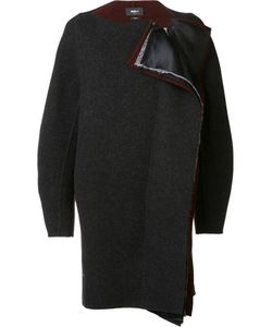 Yang Li   Collarless Cocoon Coat 40