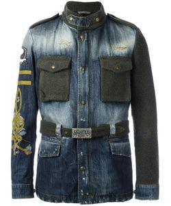 Gabriele Pasini   Paneled Denim Jacket 48