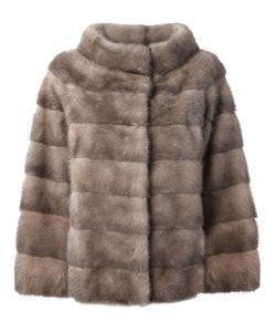 Liska   Philippa Coat Medium Mink Fur