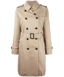 Mackintosh | Double-Breasted Mid Trenchcoat 38 Cotton/Cupro