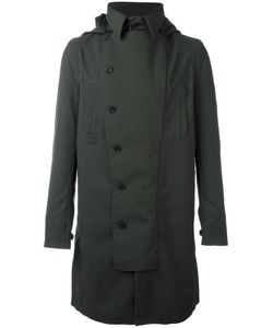 Norwegian Rain | Double Breasted Coat Small Recycled Polyester/Polyester/Viscose/Cashmere