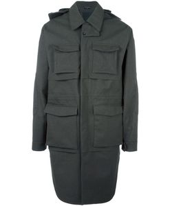 Norwegian Rain | Cargo Coat Large Recycled Polyester/Polyester/Viscose/Cashmere