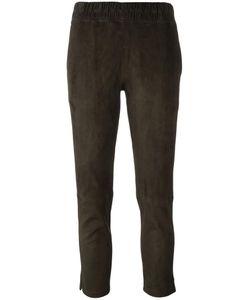 Inès & Maréchal | Cropped Slim Trousers 36 Lamb