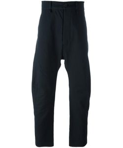 Cedric Jacquemyn | Curved Leg Trousers 46 Cotton/Cashmere