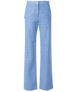 Manning Cartell | Striped Tailored Trousers 8 Cotton