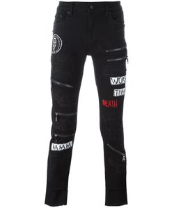 Haculla | Destroyed Effect Skinny Jeans 34 Cotton/Polyester