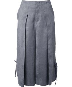 Taro Horiuchi | Cropped Pleated Trousers Medium