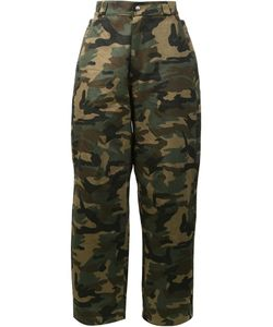 Hood By Air | Camouflage Print Trousers 34 Cotton